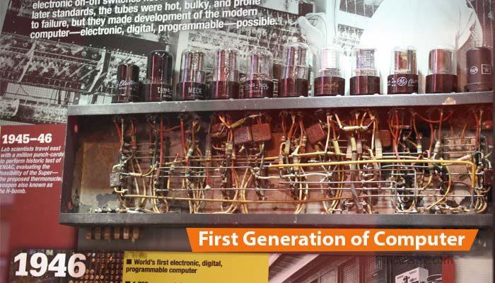 computer ka First Generation
